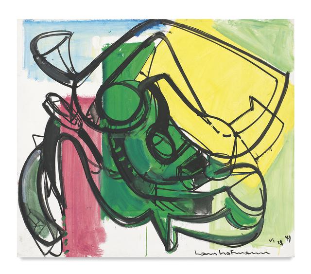 , 'Yellow Volume,' 1947, Miles McEnery Gallery