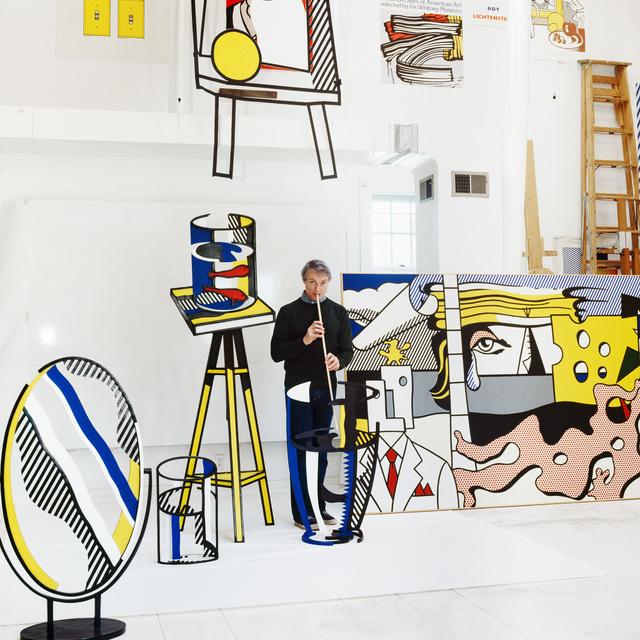 , 'Roy Lichtenstein, (Lichtenstein Studio Southampton), New York,' 1977, Bernheimer Fine Art