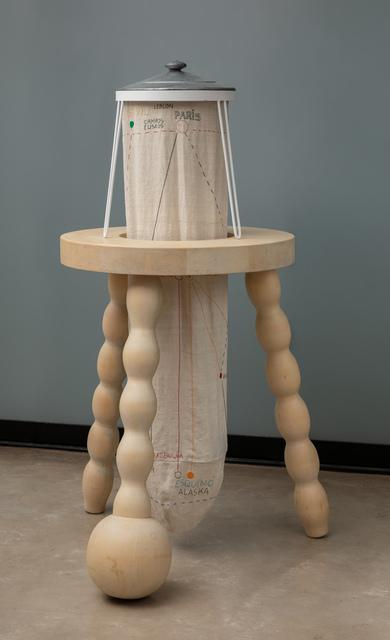 Julio Villani, 'tabouret / portrait de artur b. do r.', 2012, Galeria Raquel Arnaud