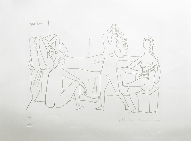 Pablo Picasso, 'QUATRE NUS AU HAREM', 1979-1982, Reproduction, LITHOGRAPH ON ARCHES PAPER, Gallery Art