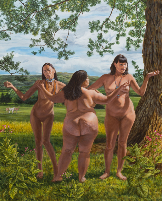 , 'The Three Graces,' 2017, Peters Projects