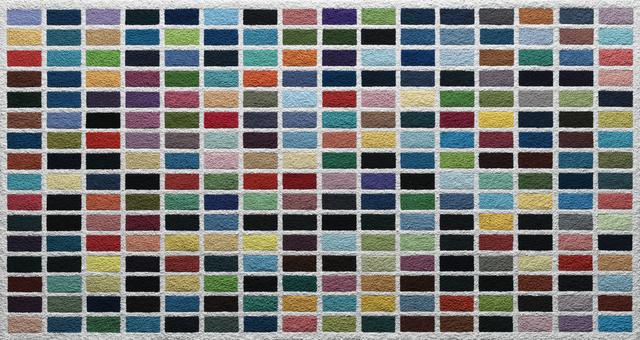 , '256 Colours, after Gerhard Richter (Pictures of Pigment),' 2015, Ben Brown Fine Arts