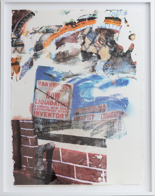 Robert Rauschenberg, 'L.A. Uncovered #6', 1998, Friends Seminary Benefit Auction