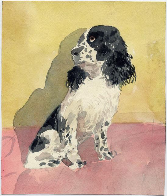 , 'Seated Dog,' , Davis & Langdale Company, Inc.