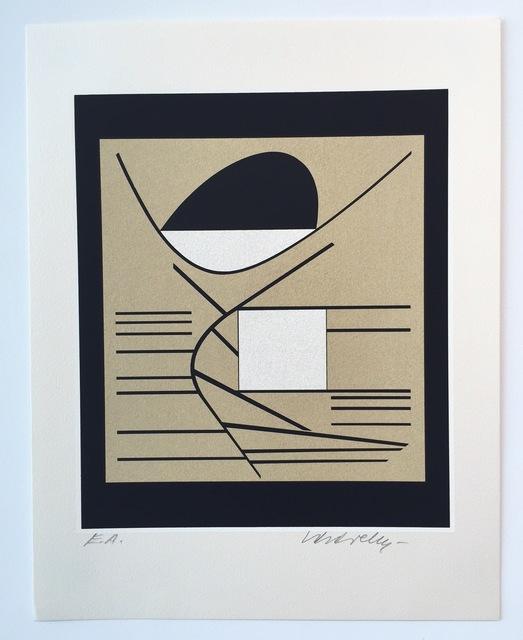 Victor Vasarely, 'Balaton, from Ion Album', 1989, Print, Screenprint, Gregg Shienbaum Fine Art