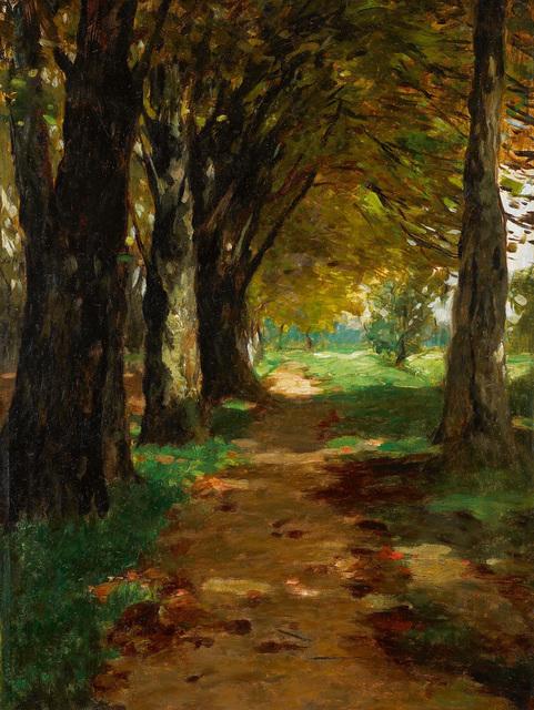 , 'Waldweg (Forest Path),' ca. 1900, Galerie Herold
