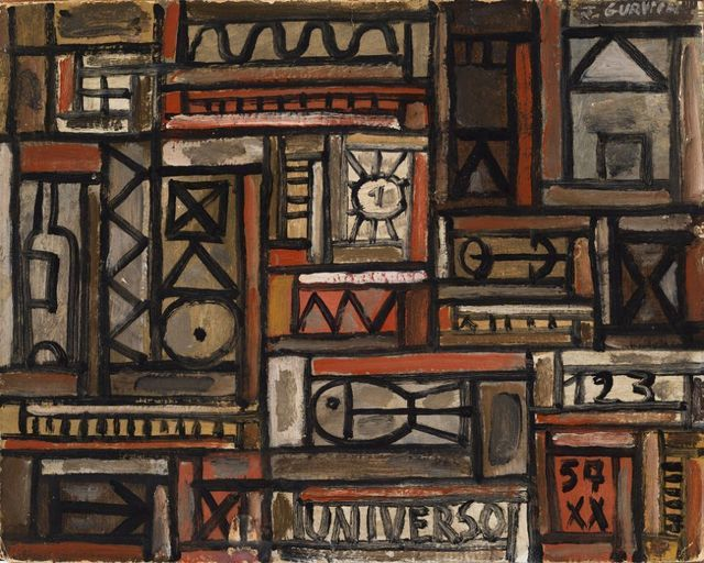 , 'Constructivo Universo,' 1957, Galeria Sur