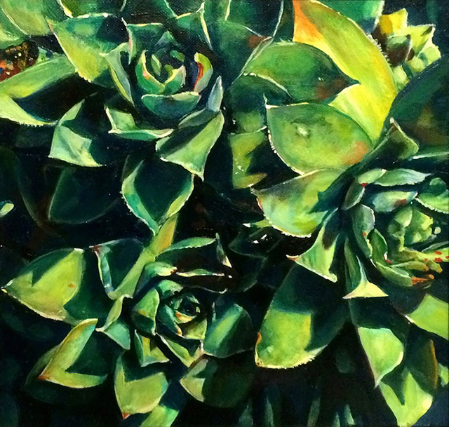 , 'Succulents,' 2015, BoxHeart