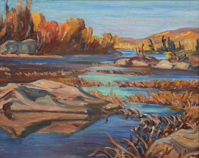 , 'River In Autumn, Algonquin Park,' 1935, Oeno Gallery