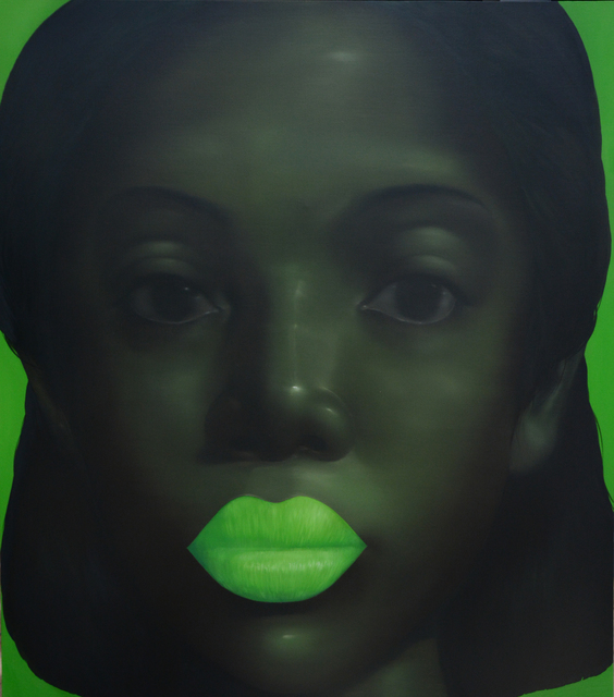 , 'Green Girl,' 2014, Adler Subhashok Gallery Bangkok