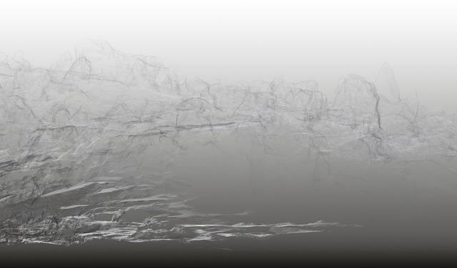 , 'Continuous Topography, Bionnassay glacier no. 19,' 2016, SCHEUBLEIN + BAK