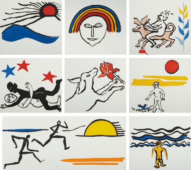 Alexander Calder, 'The Sacrilege of Alan Kent', 1976, Phillips