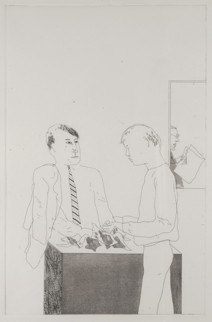 , 'He Enquired After the Quality,' 1966, Thomas French Fine Art