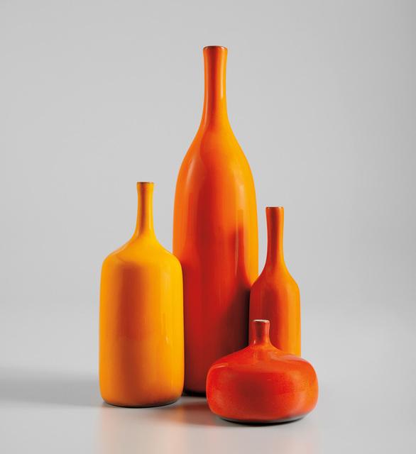 Jacques & Dani Ruelland, 'Four bottles', 1960s, Phillips