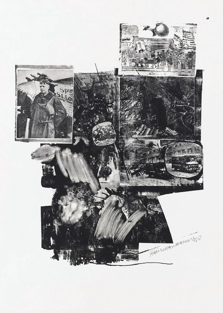 Robert Rauschenberg, 'Booster and 7 Studies, Test Stone #2', 1967, Print, Lithograph on Rives BFK paper, Kenneth A. Friedman & Co.
