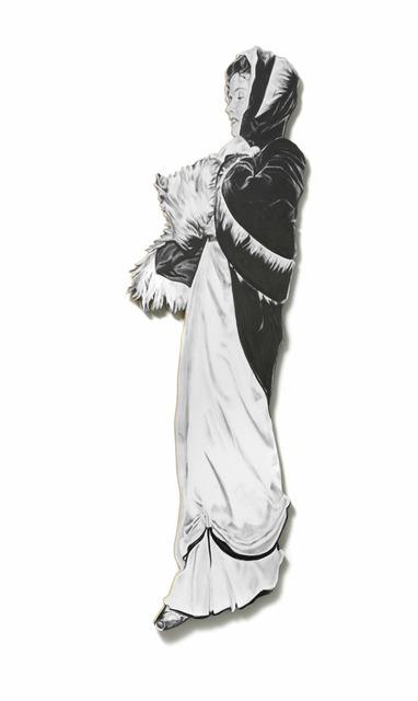 , 'Katherine (Leaning Board VII),' 2013, Cob