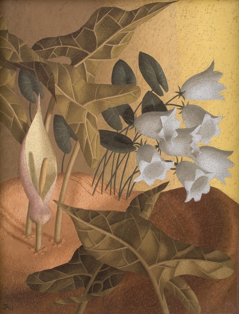 , 'Flower Piece,' 1948, Piano Nobile
