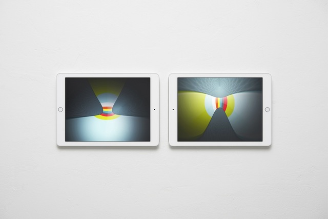 , 'Abstract Nostalgia, Images Shown on Two Apple iPad Air 2s,' 2014, West Den Haag