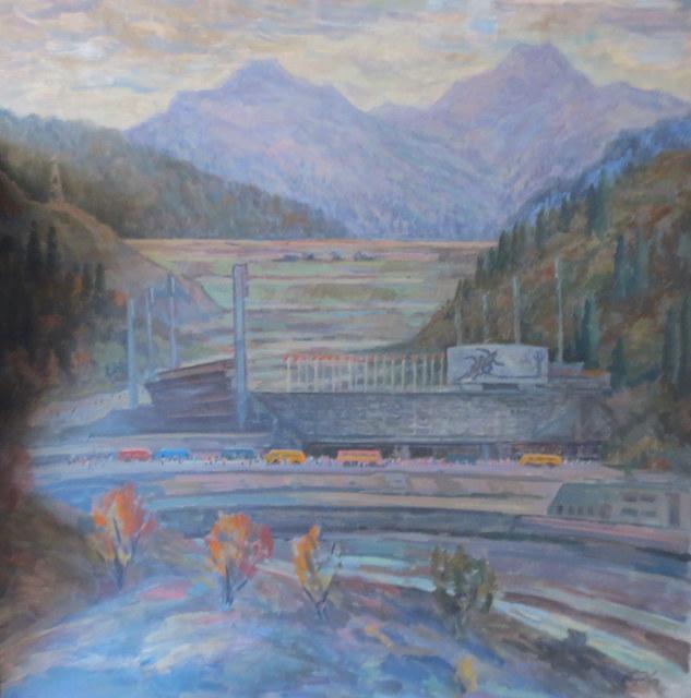Anatoly Gorovykh, 'Warm Autumn on Medeu', 1989, OYANU Gallery