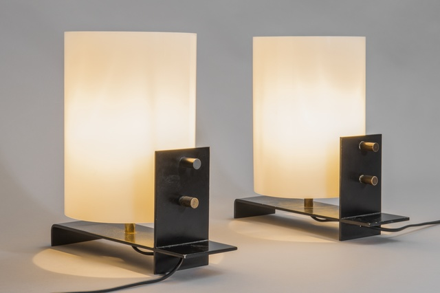 , 'Pair of table lamps,' 1958-1959, Galerie Pascal Cuisinier