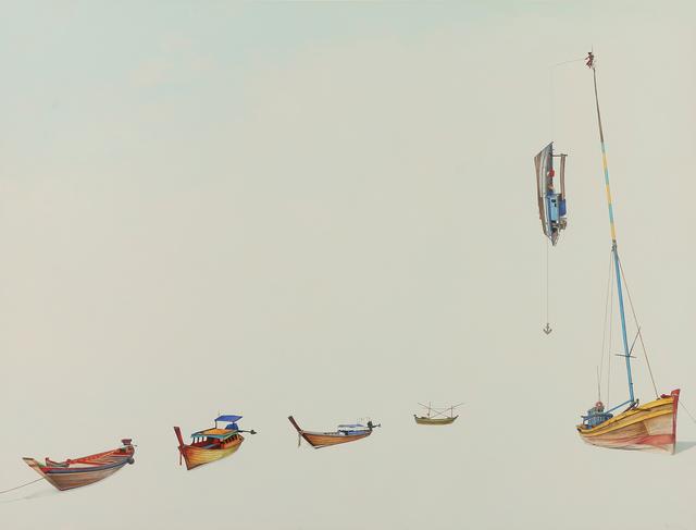 , 'Fishing Boats ,' 2015, Hespe Gallery