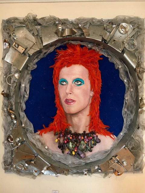, 'Bowie in Space,' 2018, THE WHITE ROOM GALLERY