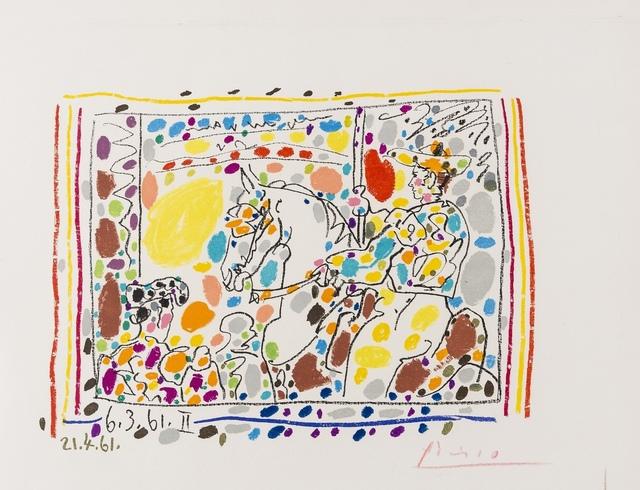 Pablo Picasso, 'The Picador II (Mourlot 350; Bloch 1017)', 1961, Forum Auctions