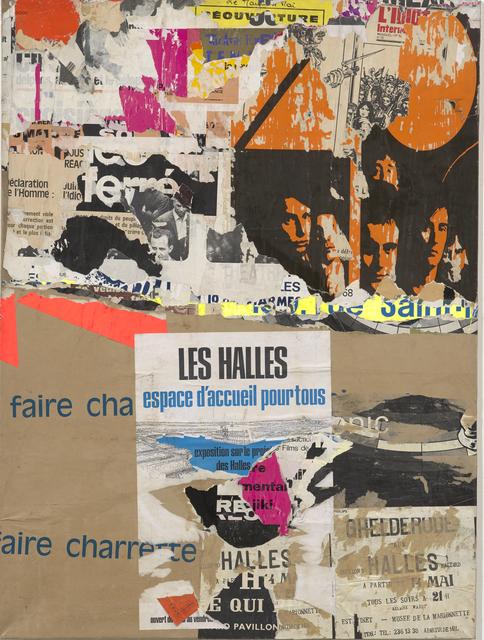 , 'Les Halles - rue Baltard,' 14 juillet 1971, Modernism Inc.