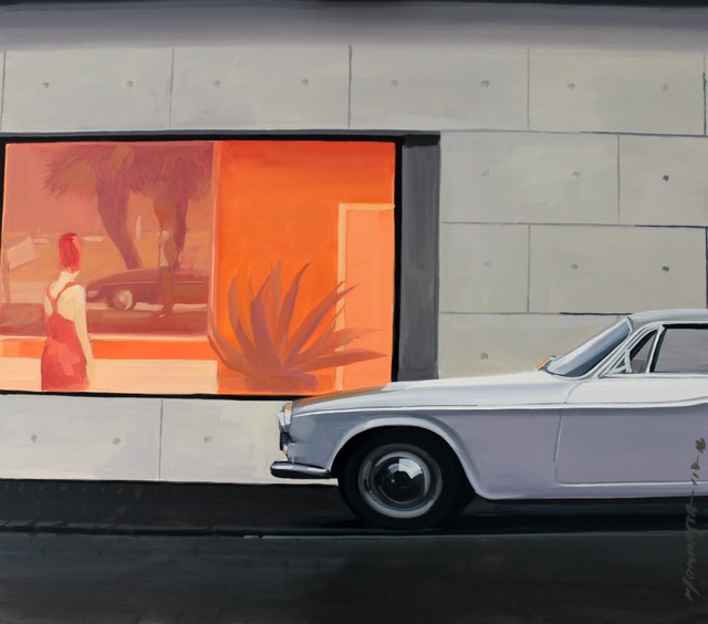 , 'Red window,' 2017, Gallery Katarzyna Napiorkowska | Warsaw & Brussels