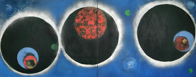 , 'Blue Bardo,' 2018, OTA Contemporary