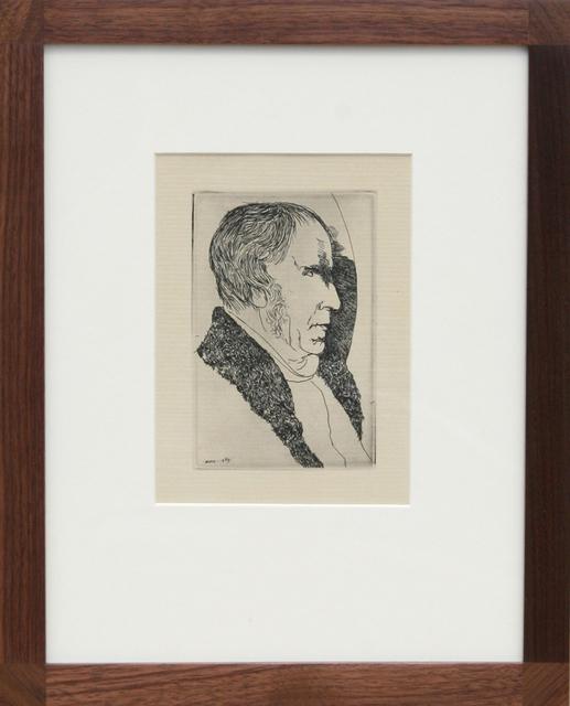 , 'Portrait of a Man,' 1969, RoGallery