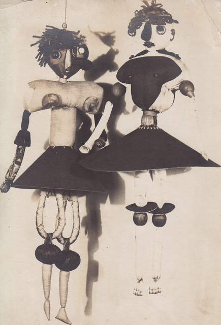 , 'Photograph of Hannah Höch's Dada Puppets,' 1920, The Museum of Modern Art