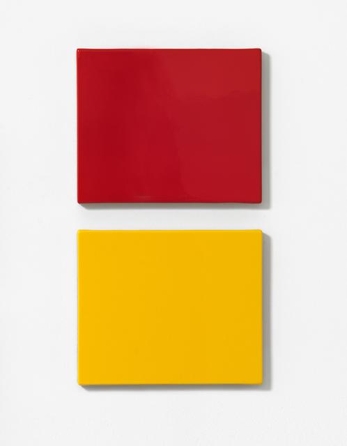 , 'Jaune Babouche & Le Rouge ,' 2015, Galerie Koal