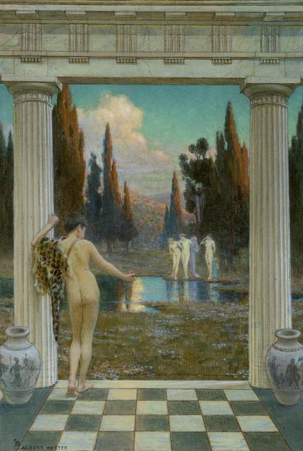 , 'Judgment of Paris,' ca. 1909, Debra Force Fine Art