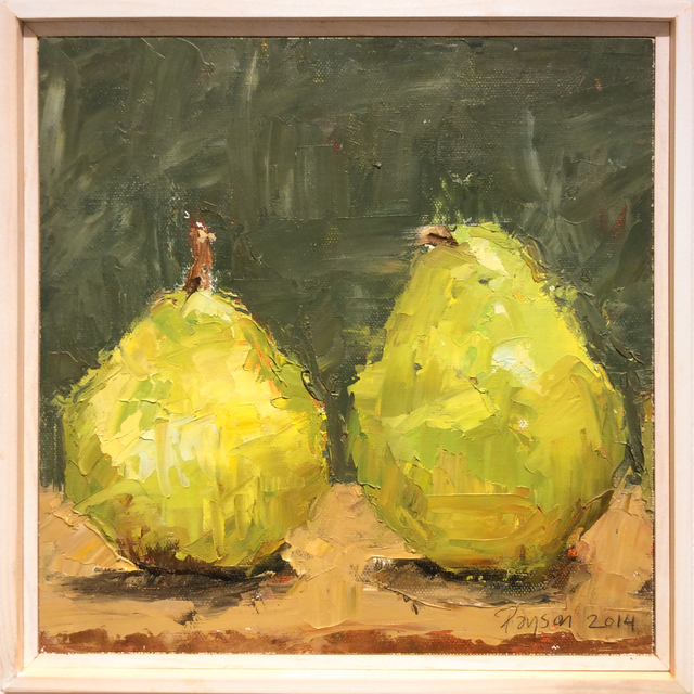 Dale Payson, 'Pears I', 2014, Carrie Haddad Gallery