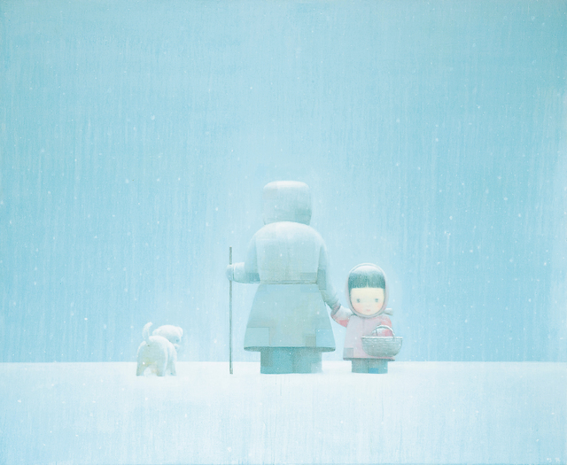 Liu Ye 刘野, 'The Long Way Home', 2005, Painting, Oil on canvas, Seoul Auction