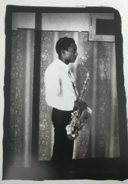 Ming Smith, 'David Murray in the Wings', 1978, Jenkins Johnson Gallery