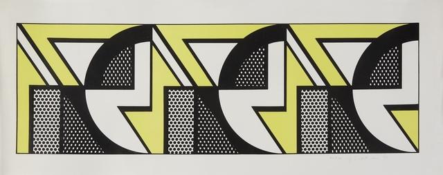 Roy Lichtenstein, 'Repeated Design', 1969, Print, Lithograph on Arches paper, Fine Art Mia