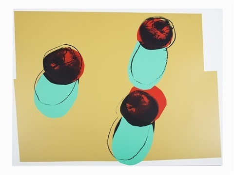 Andy Warhol, 'Apples ', 1979, David Parker Gallery