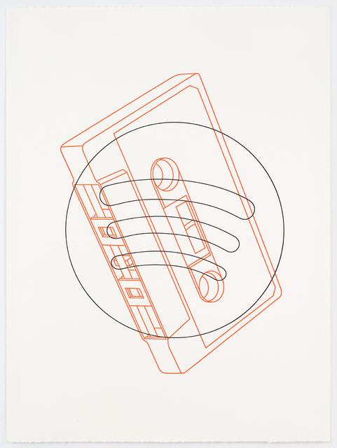 , 'Cassette / Spotify,' 2017, Alan Cristea Gallery