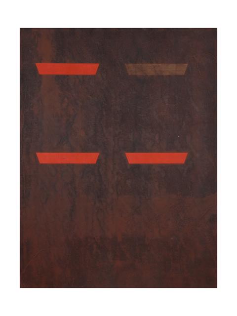 , 'Un degré de chaleur très élevé une fois atteint dans un incendie on voit s'enflammer des matériaux normalement incombustibles,' 2012, Ribordy Contemporary