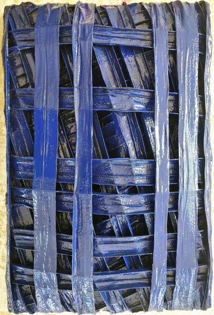 Dieter List, 'Gewölbter Raum Blau', 2016, Galerie Makowski