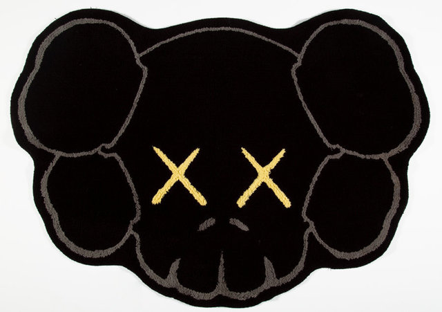 KAWS, 'Companion Head Bath Mat', 2016, Other, Polyester mat, Heritage Auctions
