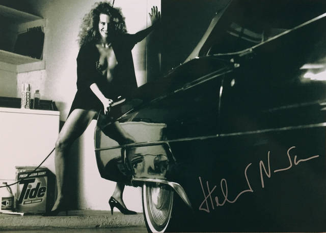 , 'Woman and Cadillac,' 1987, Hal Bromm