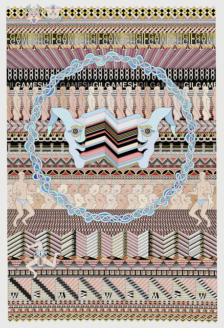 Jess Johnson, 'Gilgamesh', 2015, National Gallery of Victoria