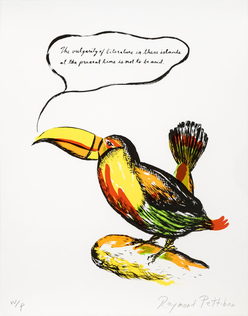 Raymond Pettibon, 'Untitled (Toucan)', 2018, Carolina Nitsch Contemporary Art