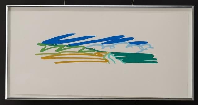 , 'Study for Seascape with Cumulus Clouds,' 1991, Vertu Fine Art