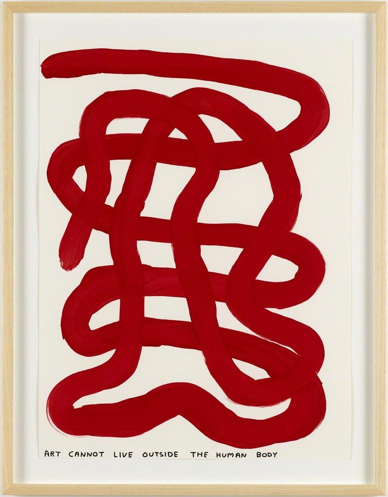 David Shrigley, 'Untitled (Art cannot),' 2014, Galleri Nicolai Wallner