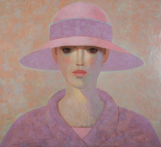 , 'Lady with purple coat,' 2017, Art Center Horus