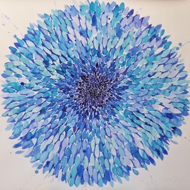 , 'Big Blue Flower 3.16,' 2016, ARC Fine Art LLC